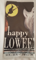 Ghostly Happy Halloween Tablecover